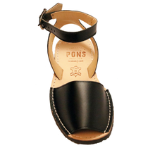 Load image into Gallery viewer, Ankle - Leather Black - Menorca Sandals - Menorca Sandals
