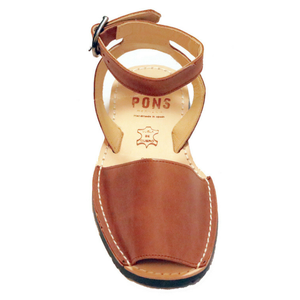 Ankle - Leather TAN - Menorca Sandals - Menorca Sandals