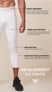 Hip Alignment 3/4 Tights