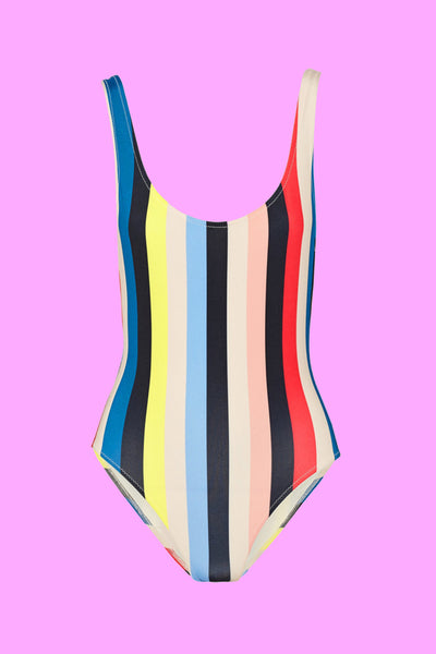 Cindy Stripe Swimsuit