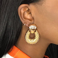 Copy of Gold Hear Earrings 2