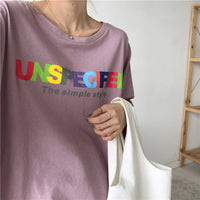 Unspecified Tee x 4 Colours
