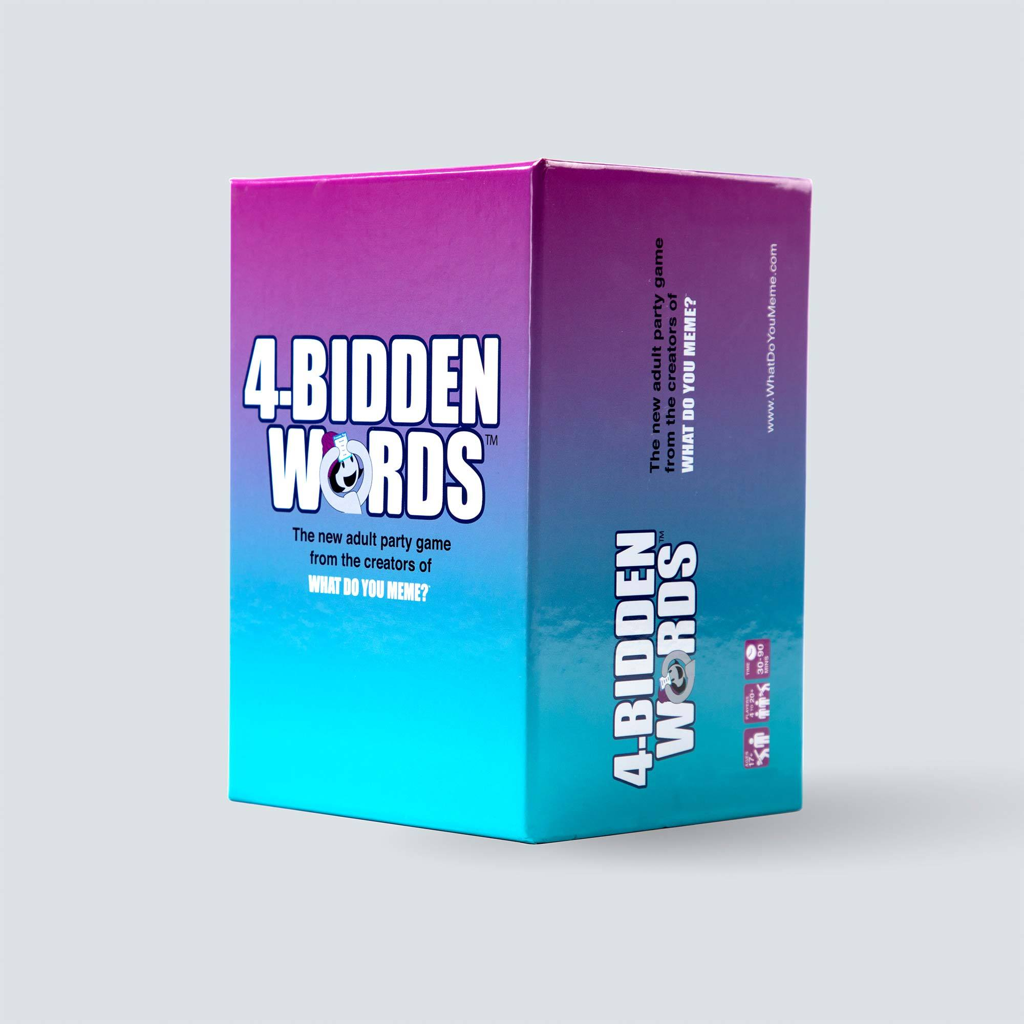 4-Bidden Words - Adult Party Game by What Do You Meme™
