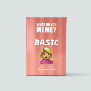 Basic Expansion Pack for What Do You Meme™ - Adult Party Game