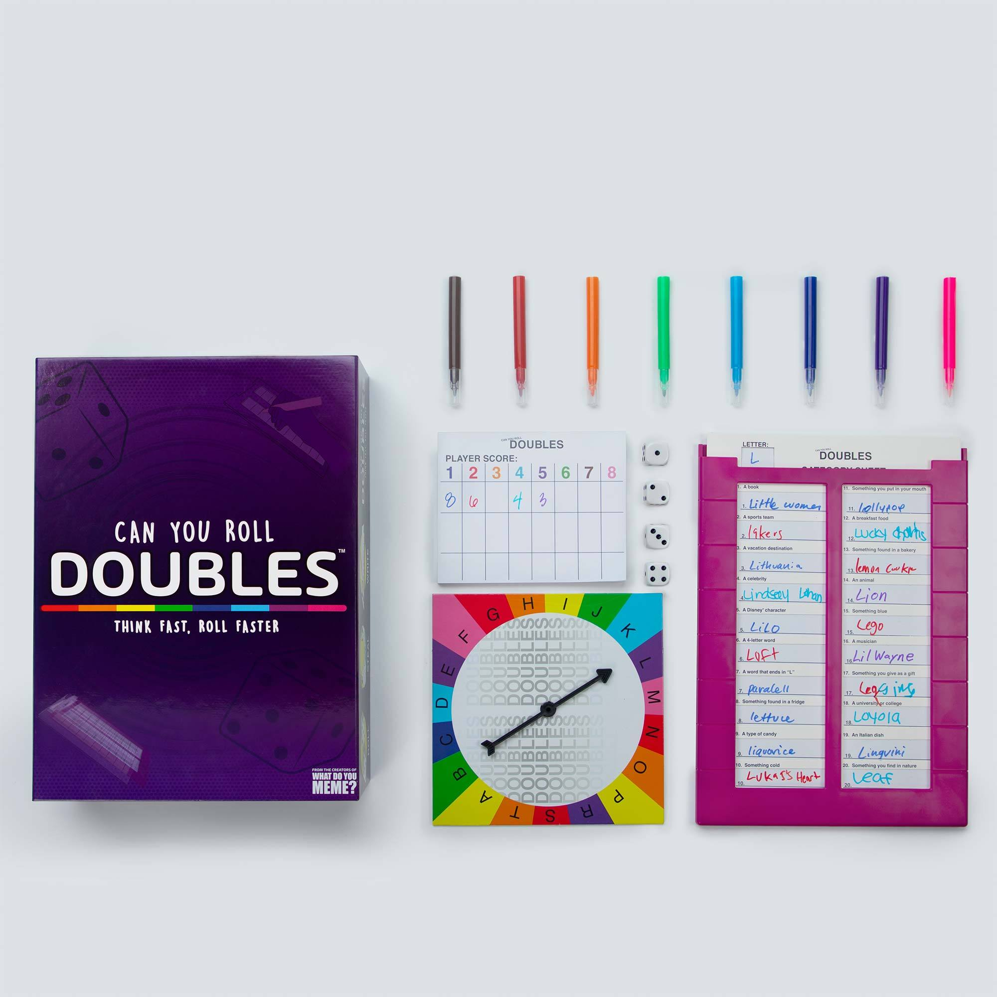 Doubles! - Family Friendly Party Game by What Do You Meme™