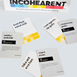 Incohearent - Adult Party Game by What Do You Meme™