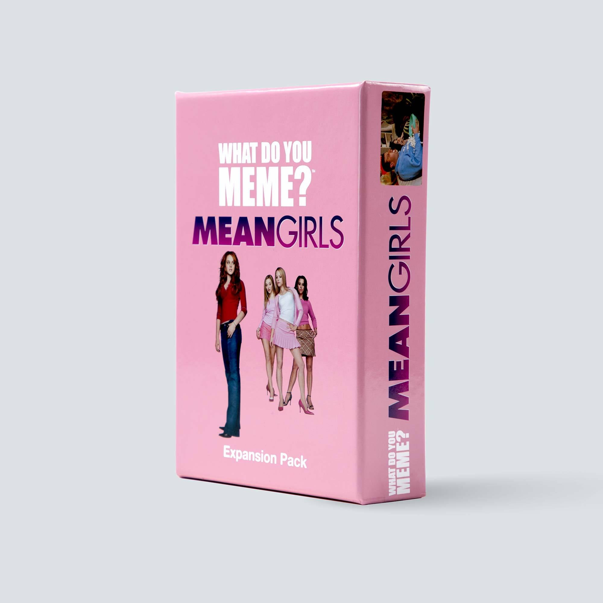 Mean Girls Expansion Pack for What Do You Meme™ - Adult Party Game