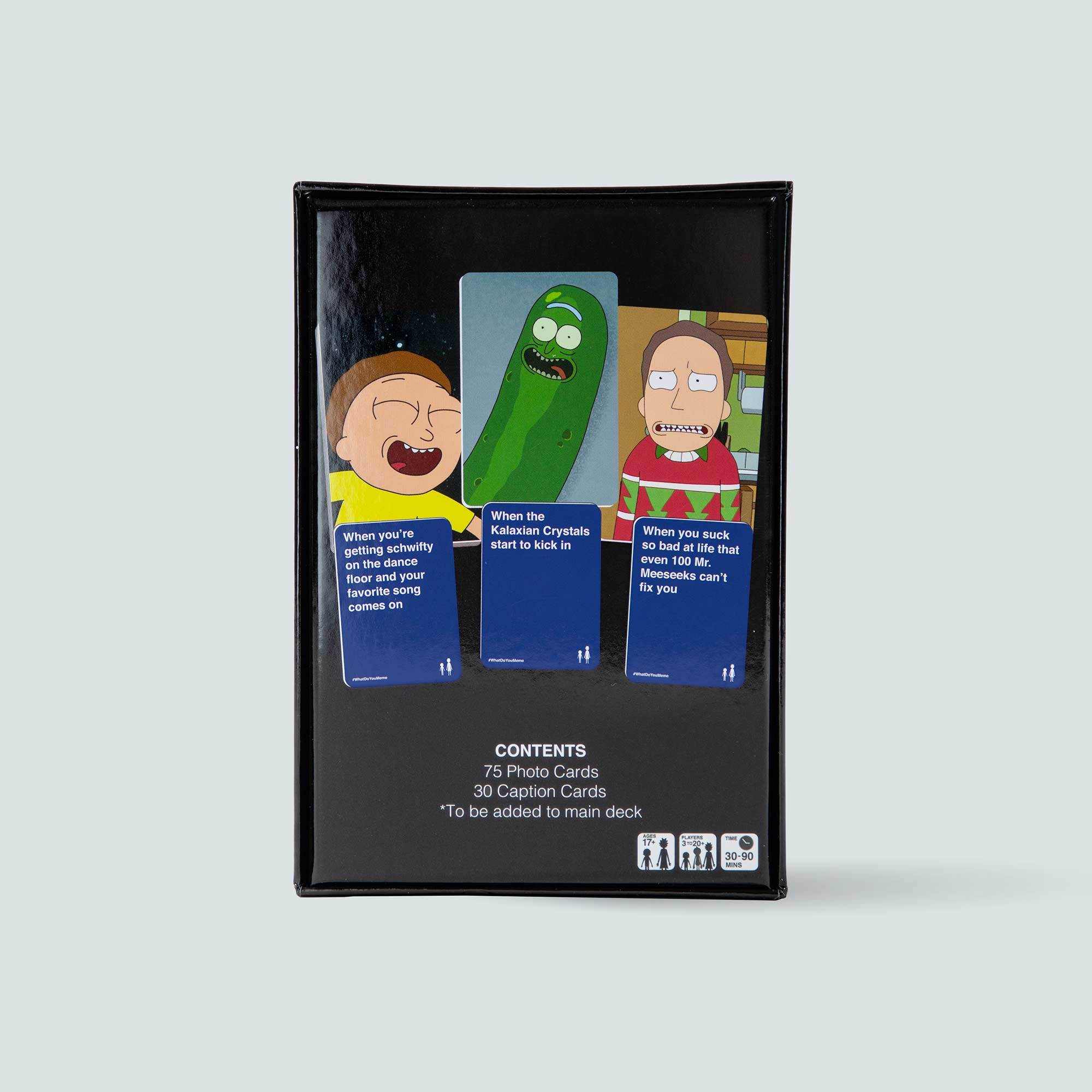 Rick & Morty Expansion Pack for What Do You Meme™ - Adult Party Game