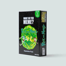 Load image into Gallery viewer, Rick & Morty Expansion Pack for What Do You Meme™ - Adult Party Game