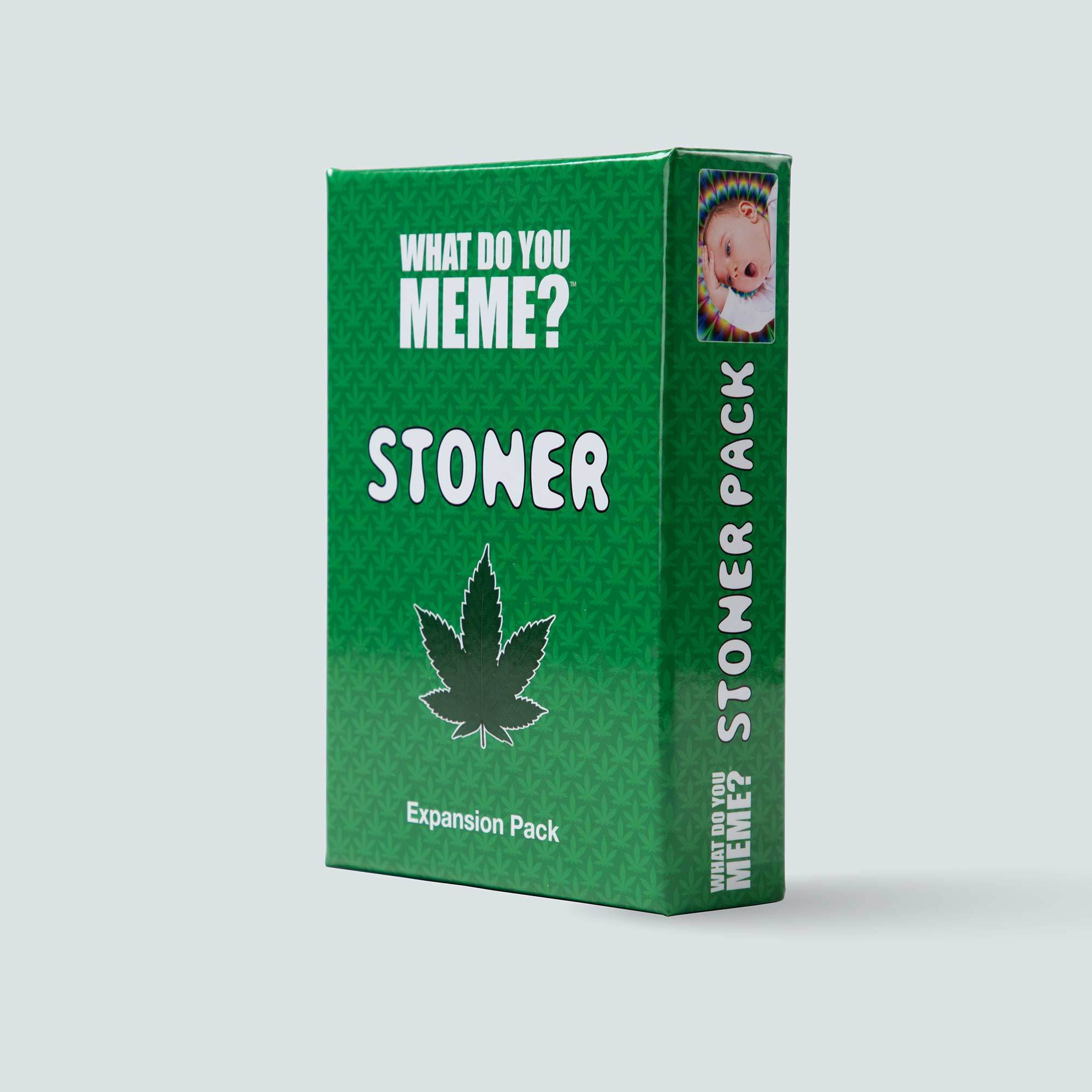 Stoner Expansion Pack for What Do You Meme™ - Adult Party Game