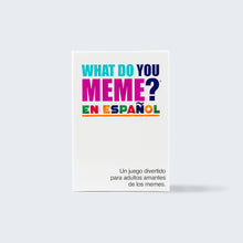 Load image into Gallery viewer, What Do You Meme?® Core En Español