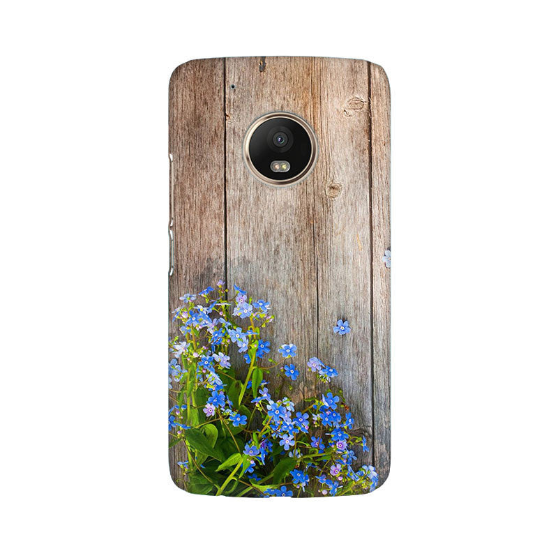 on sale 470f1 6fac9 Wooden Prined Back Cover For Moto G5 Plus