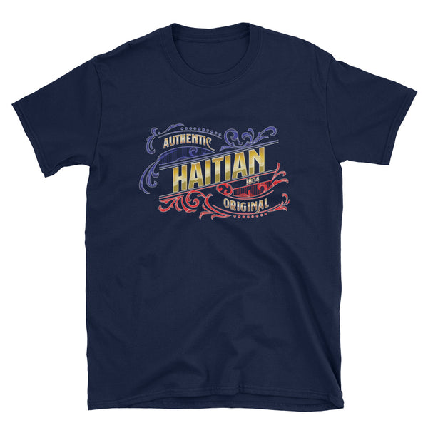 Authentic Haitian Short-Sleeve Unisex T-Shirt