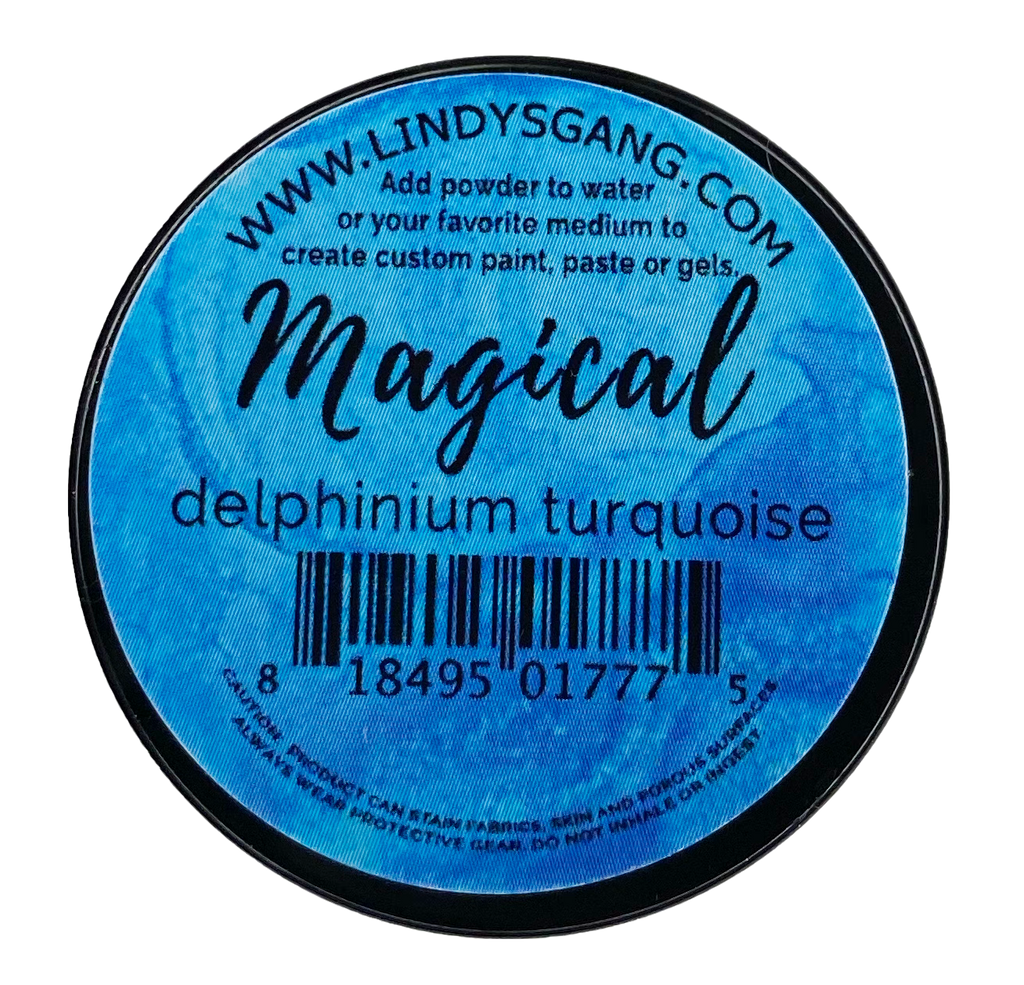 Delphinium Turquoise - Lindy's Gang Store