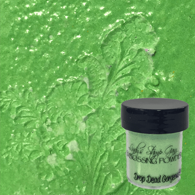 Drop Dead Gorgeous Green Embossing Powder
