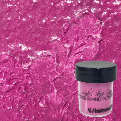 Hi Maintenance Magenta Embossing Powder