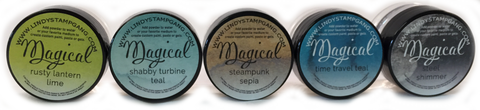 Industrial Chic- MAGICAL Shimmer Powders