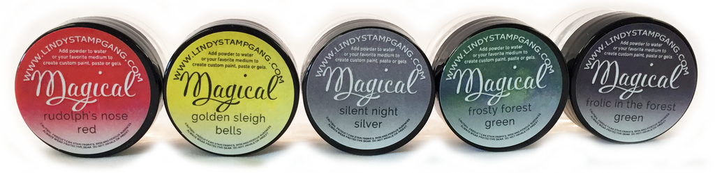 Jingle Bells- MAGICAL Shimmer Powders