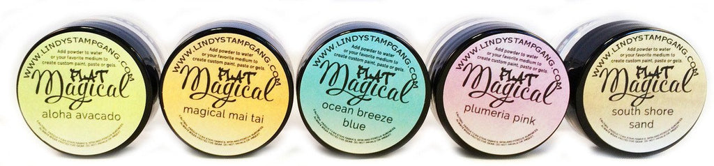 Hawaiian Islands- MAGICAL Flat Powders
