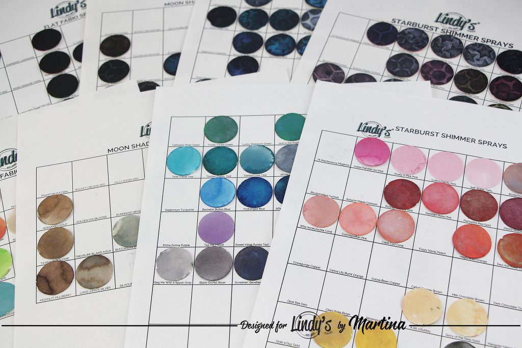 Printable Color Swatch Charts - Lindy's Gang Store