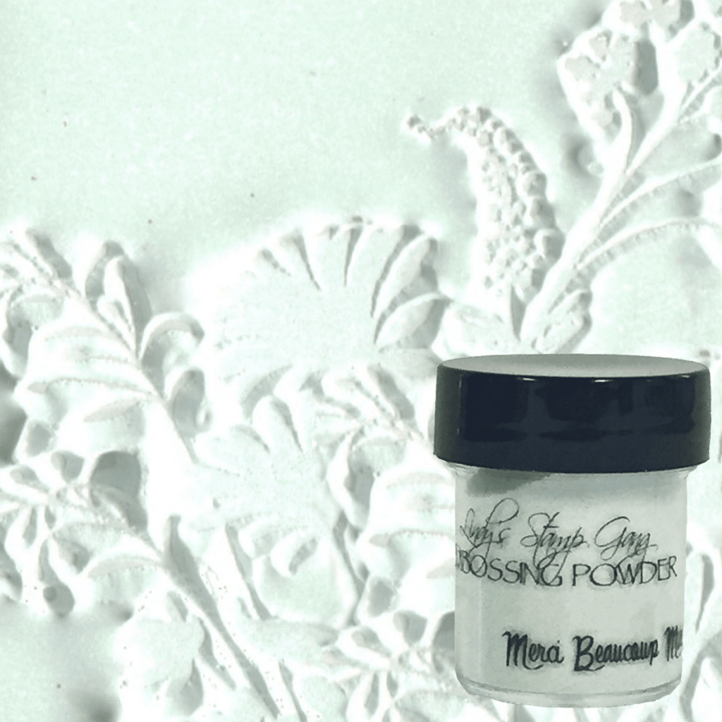 Merci Beaucoup Mint Embossing Powder