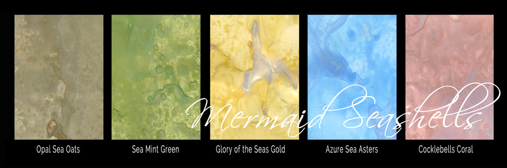 Mermaid Seashells Shimmer Magicals