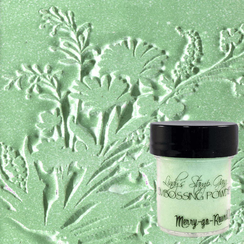 Merry-Go-Round Green Embossing Powder