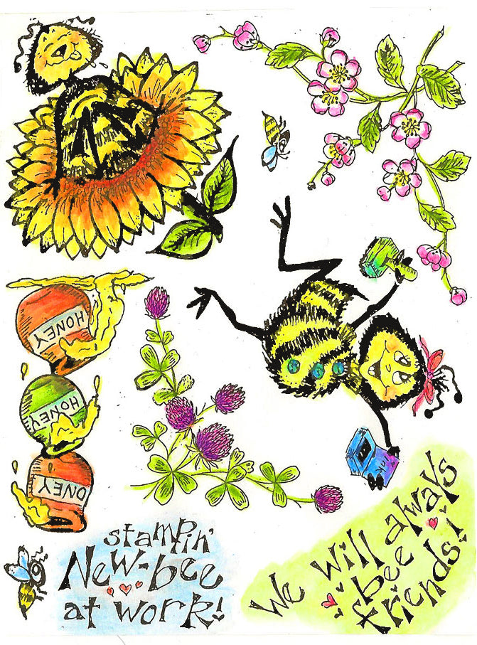 Stampin' New Bee's Gang