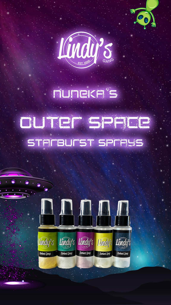 Outer Space Aqua - Lindy's Gang Store