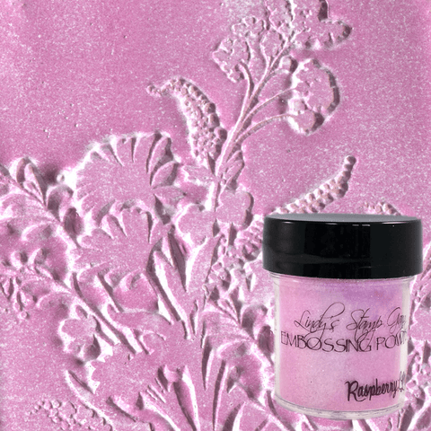 Raspberry Lemonade Embossing Powder