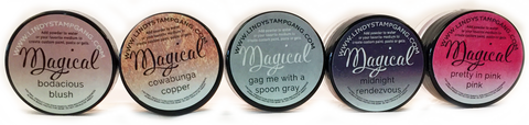 Totally 80's- MAGICAL Shimmer Powders