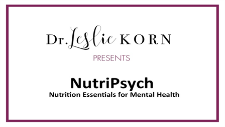 Introduction to NutriPsych by Dr. Leslie Korn