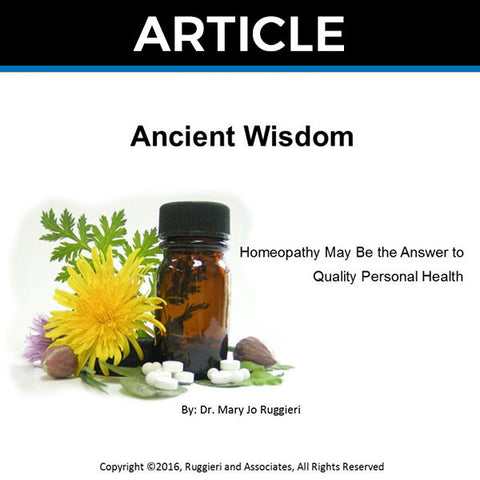 Ancient Wisdom by Dr. Mary Jo Ruggieri