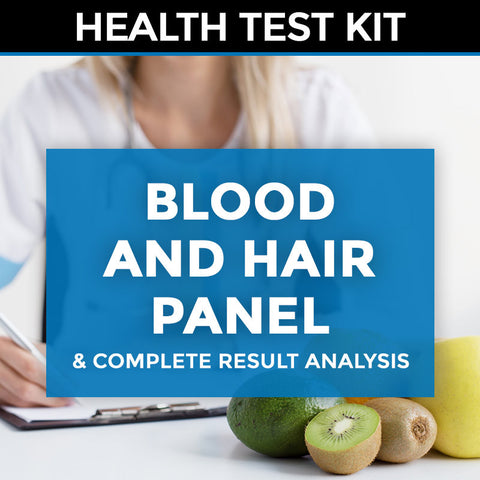 Blood and Hair Panel (complete with detailed written report) + Result Analysis & Consultation