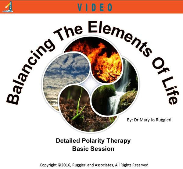 Balancing the Elements of Life by Dr. Mary Jo Ruggieri
