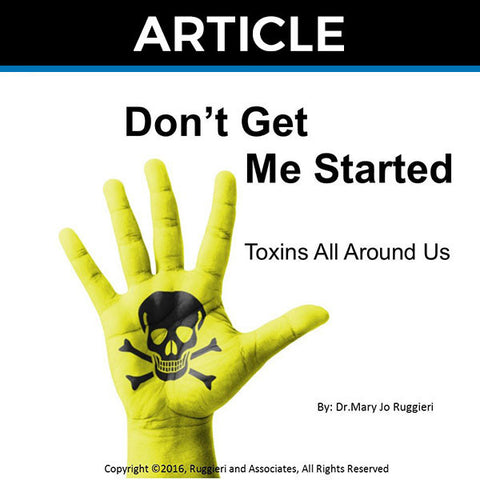 Don't Get Me Started by Dr. Mary Jo Ruggieri