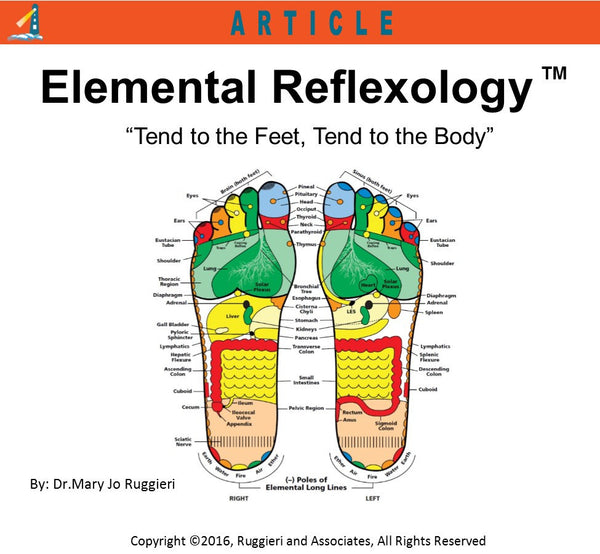 Elemental Reflexology by Dr. Mary Jo Ruggieri