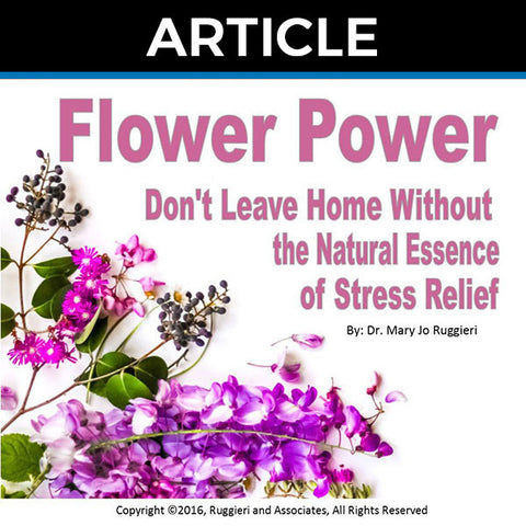 Flower Power by Dr. Mary Jo Ruggieri