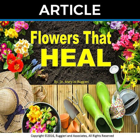 Flowers That Heal by Dr. Mary Jo Ruggieri