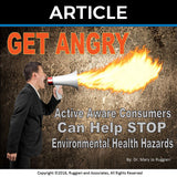 Get Angry by Dr. Mary Jo Ruggieri