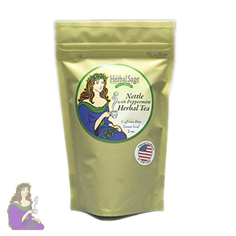 Herbal Sage: Nettle Peppermint Loose Leaf Tea