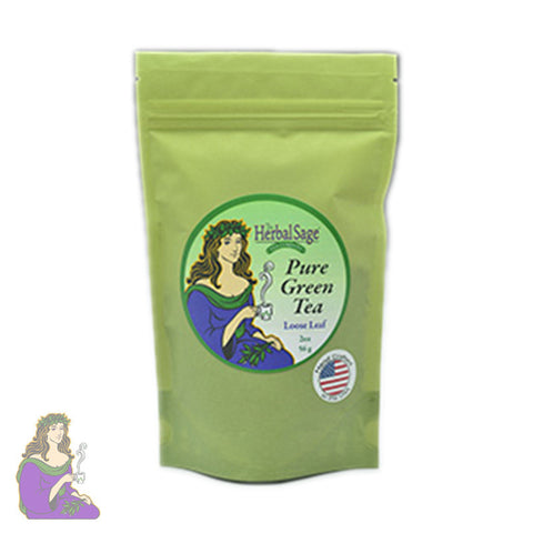 Herbal Sage: Pure Green Tea