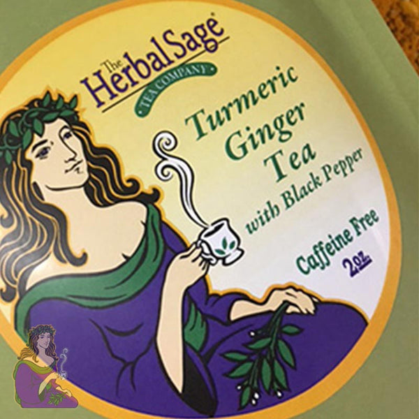 Herbal Sage Tea Company: Turmeric Ginger with Black Pepper Tea