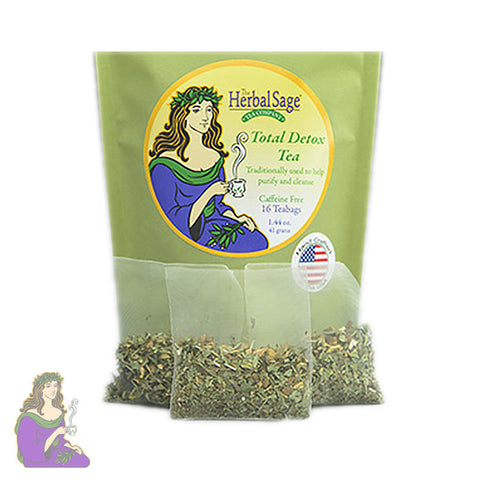 Herbal Sage Tea Company: Total Detox Tea