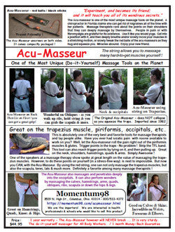 Information on Acu-Masseur