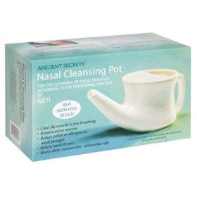 Neti Pot - Nasal Cleaning Pot by Ancient Secrets for Sinus Cleansing
