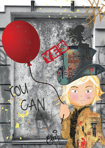 Yes You Can - Hand Signed Giclée Print