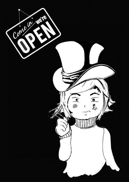 Mini Gabi- We Are Open