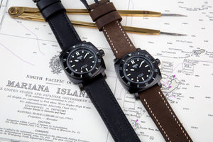 TRIESTE Watch Straps - Handmade Leather