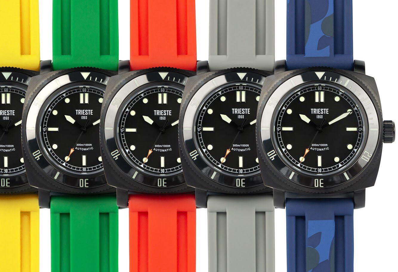 TRIESTE Watch Straps - Rubber